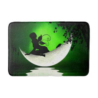 Floating fairy moon bathmat bath mats