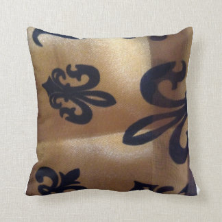 Floating Fleur de Lis Cushion