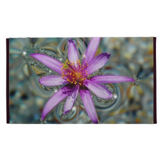 Floating Flower iPad Folio Cases