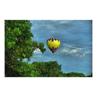 Floating Free Photo Print