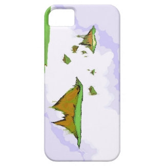 Floating Golf Course iPhone 5 Covers
