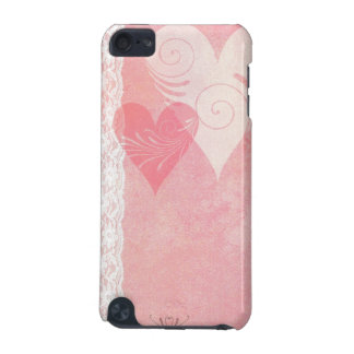 Floating Hearts and Lace iPod Touch Case
