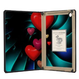 Floating Hearts iPad Mini Retina Cover