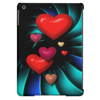 Floating Hearts Case For iPad Air