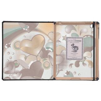 Floating Hearts iPad Case