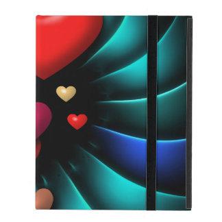Floating Hearts iPad Covers