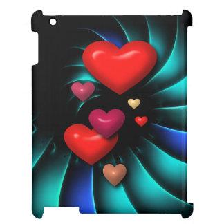 Floating Hearts iPad Cover