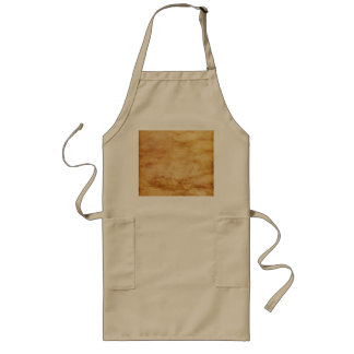 Floating Hearts on Antiqued Background Long Apron
