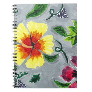 Floating Hibiscus Note Book