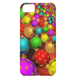 Floating Holiday Ornaments iPhone 5C Case