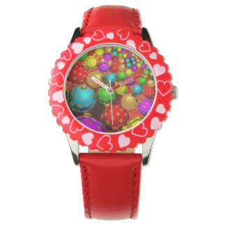 Floating Holiday Ornaments Watch