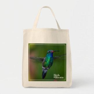 Floating Hummingbird Tote Bag