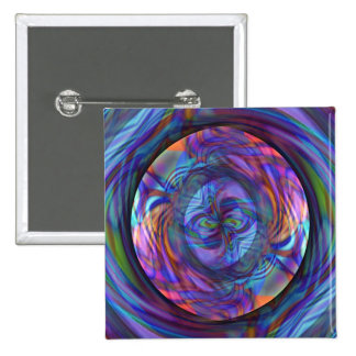 Floating in a Pool of Thought Pinback Button