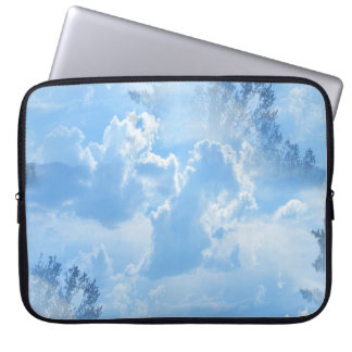 Floating in the clouds... laptop sleeve