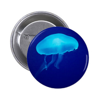 Floating Jellyfish Badge Button