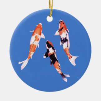 Floating Koi Ornament