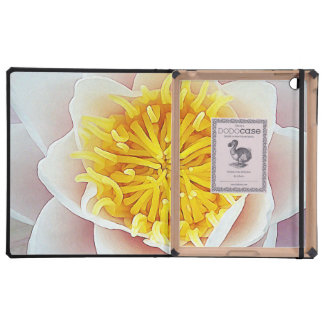 Floating Lotus iPad Folio Case