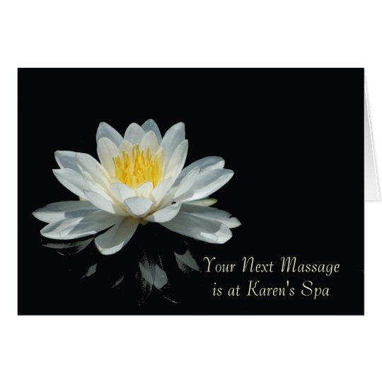 Floating Lotus Flower Note Cards