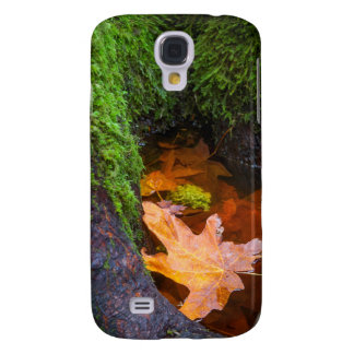 Floating Maple Leaf, Oregon, USA Galaxy S4 Case