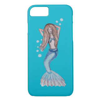 Floating Mermaid iPhone 7 Case