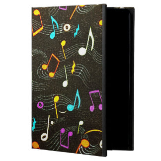 Floating Notes Fabric Print iPad Air Cases