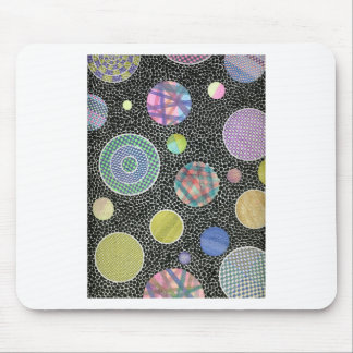 floating on black mouse pad