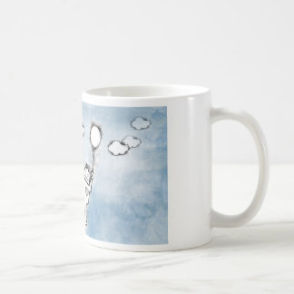 Floating Robot Coffee Mug