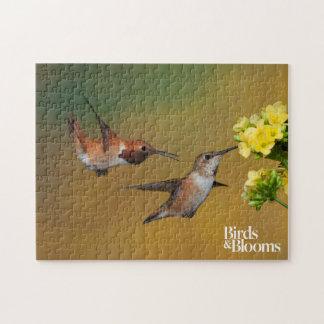 Floating Rufous Hummingbird Jigsaw Puzzle
