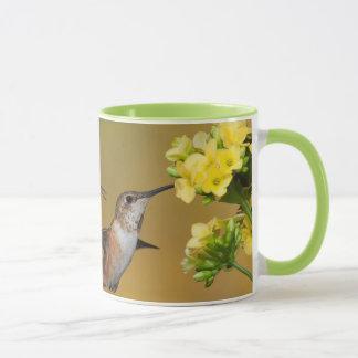 Floating Rufous Hummingbird Mug