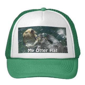 "Floating Sea Otter ""My Otter Hat!"" Trucker Hat"