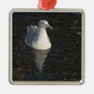Floating Seagull Ornament