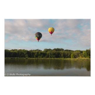Floating Silk Photograph
