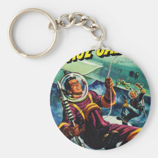 Floating Space Cadets Key Ring