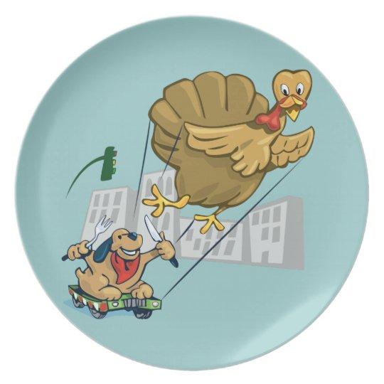 Floating Turkey Dinner Plate