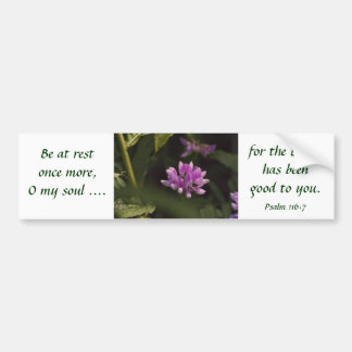 Floating Wildflower Bumper Sticker