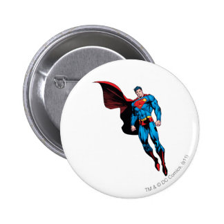 Floating with Cape 6 Cm Round Badge