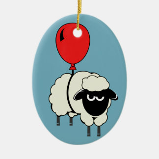 FloatingSheep Xmas Ornament