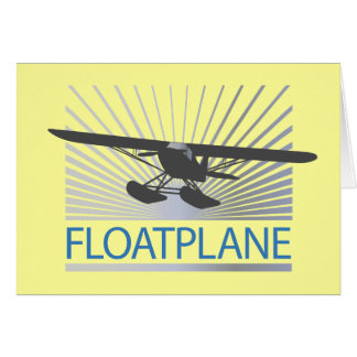 Floatplane Greeting Card