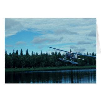 Floatplane Landing Greeting Card