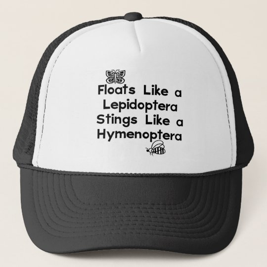 Floats Lepidoptera Trucker Hat