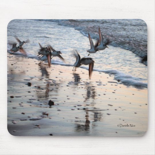 Flock of Birds Mousepad