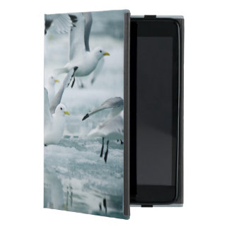 Flock of Black-legged Kittiwakes Cover For iPad Mini