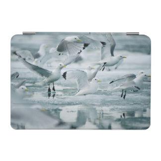 Flock of Black-legged Kittiwakes iPad Mini Cover