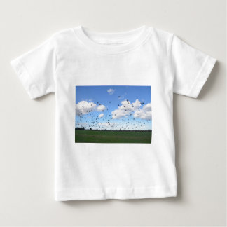 Flock Of Pigeons Baby T-Shirt