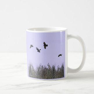 Flock of Ravens Basic White Mug