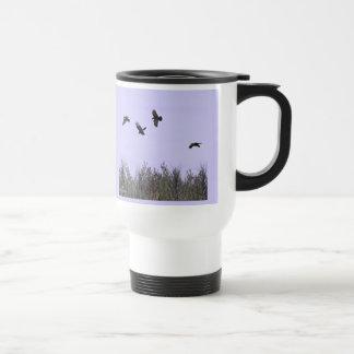 Flock of Ravens Stainless Steel Travel Mug