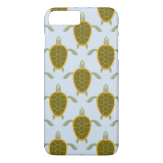 Flock Of Sea Turtles Pattern iPhone 8 Plus/7 Plus Case