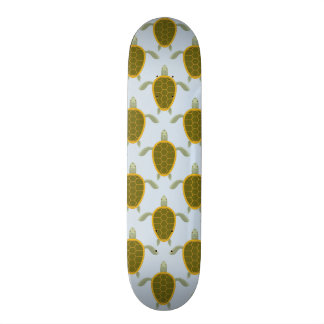 Flock Of Sea Turtles Pattern Skate Board Deck