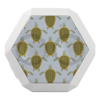 Flock Of Sea Turtles Pattern White Bluetooth Speaker