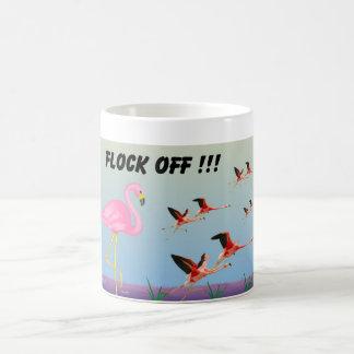 Flock Off ! Basic White Mug
